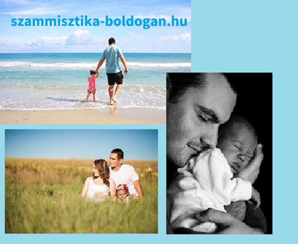 család, kép