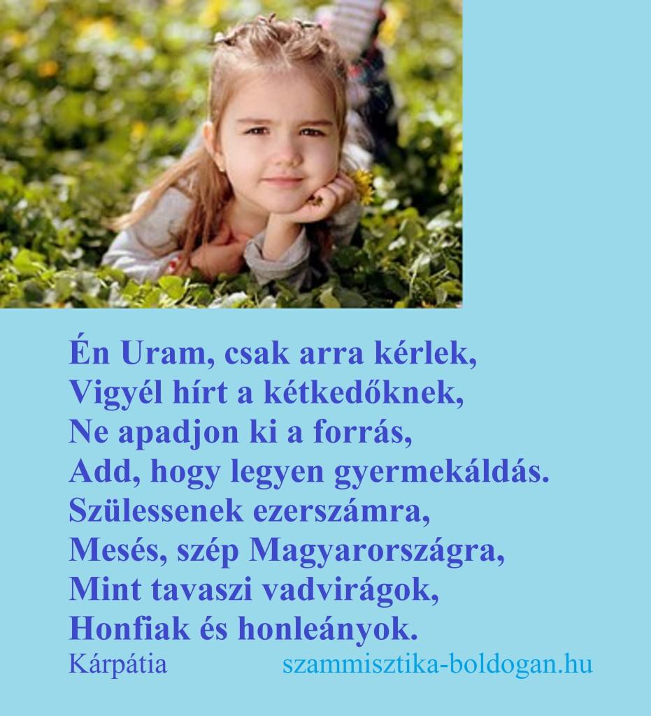 gyermek áldás, idézet