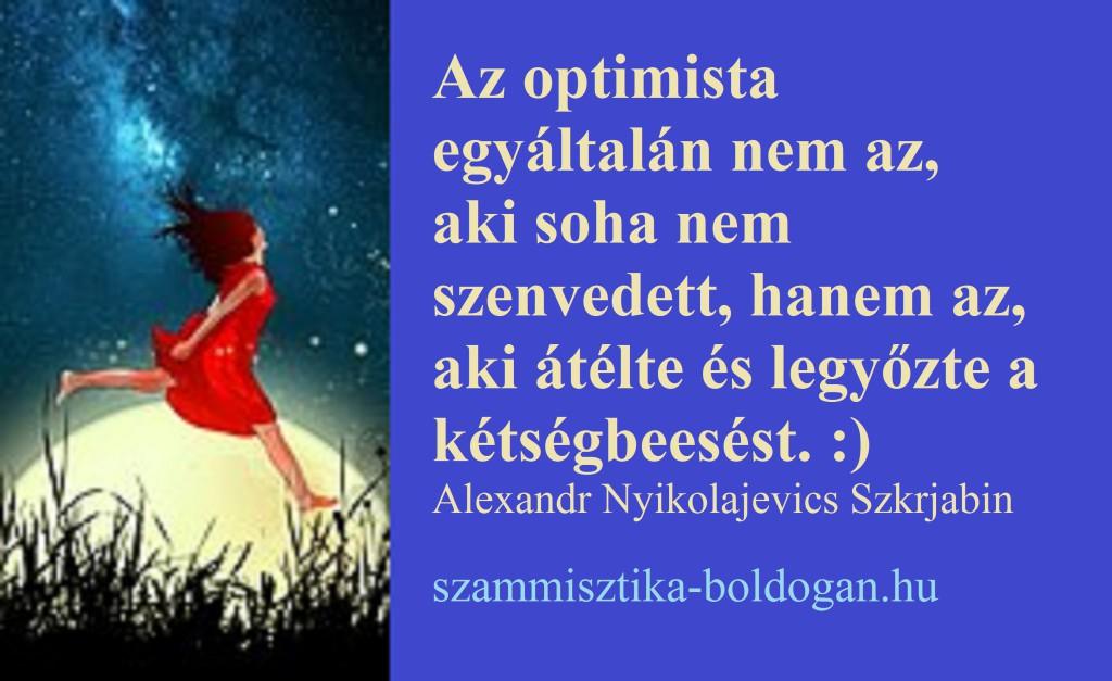optimista idézet