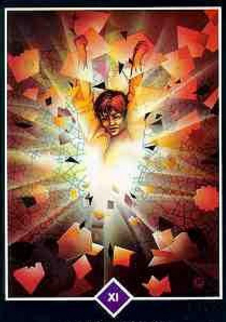 11, Áttörés (Osho tarot kártya)